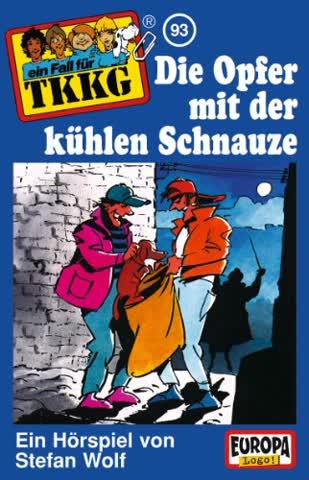 Ein Fall für TKKG 93 - Die Opfer mit der kühlen Schnauze [CASSETTE]