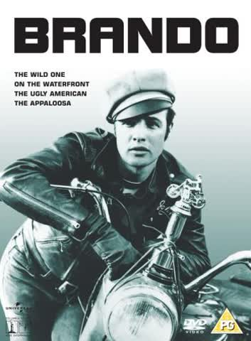 Brando (The Wild One / On The Waterfront / The Ugly American / The Appaloosa) [DVD]