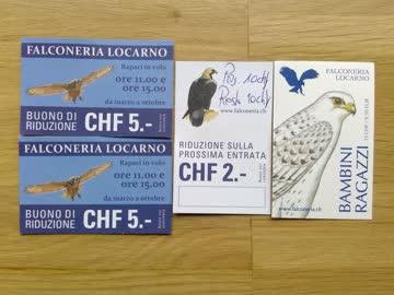 Falconeria Locarno Vogelpark