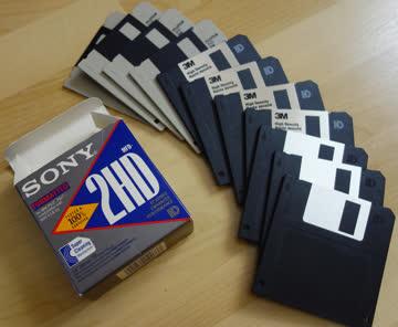 """Disketten 3.5"""" 2HD"""