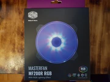 Cooler Master MF200R RGB 200x200x25mm, 12V, 28dBA