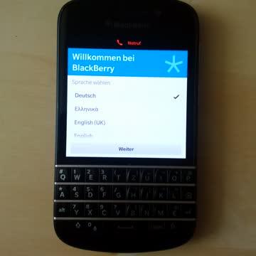 Blackberry Q10 schwarz