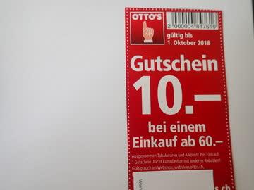 Otto 10 Gutschein