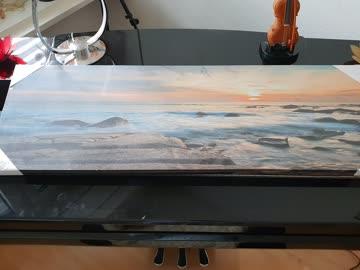 Wunderschönes Meerbild, noch originalverpackt