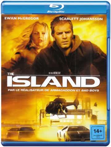 The island [Blu-ray] [Import belge]