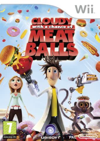 Cloudy With A Chance Of Meatballs (Wii)