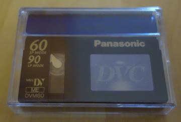 Panasonic MiniDV Tapes 60 min.
