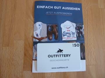 CHF 50 Outfittery Gutschein