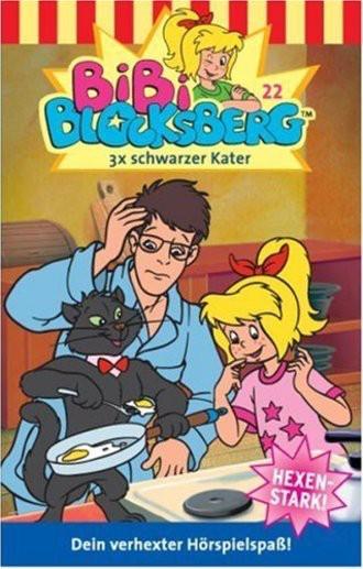 Bibi Blocksberg (Folge 22); 3x Schwarzer Kater [Musikkassette]