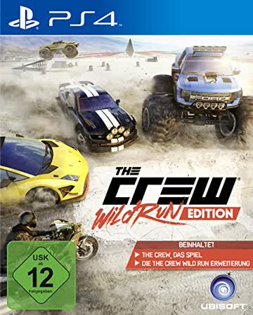 The Crew Wild Run Edition (USK ab 12 Jahre) PS4