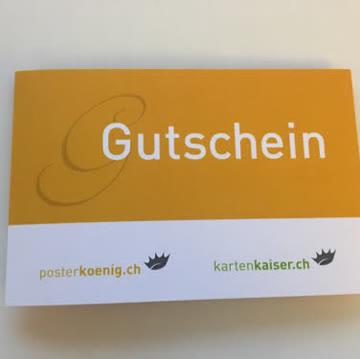 Gutschein 10% Posterkoenig.ch / kartenkaiser.ch