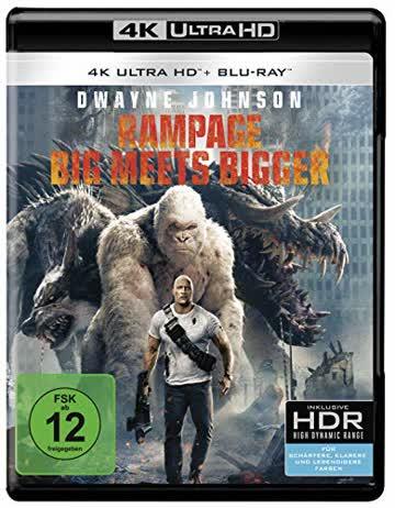 Rampage: Big Meets Bigger [4K Ultra HD + Blu-ray]