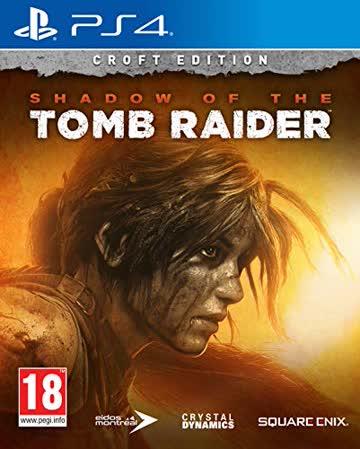 Shadow of the Tomb Raider Croft Edition (PS4) - [AT-PEGI]