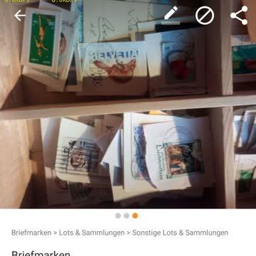 für erfahrene Sammler: Briefmarkensammlung