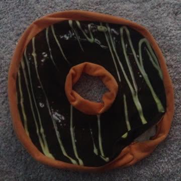 Donut Kissenbezug