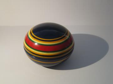 kleines holzdöschen (handmade in india)