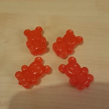 4 rote Eisbärli fürs Frostfach