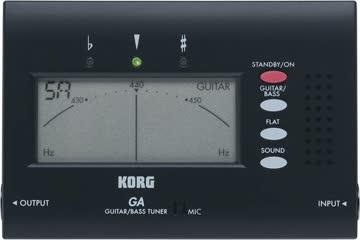Korg GA-30 Gitarrenstimmgerät