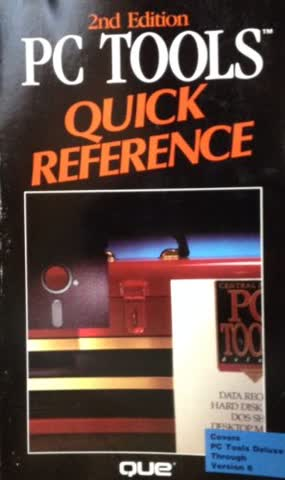 PC Tools Quick Reference (Que Quick Reference Series)