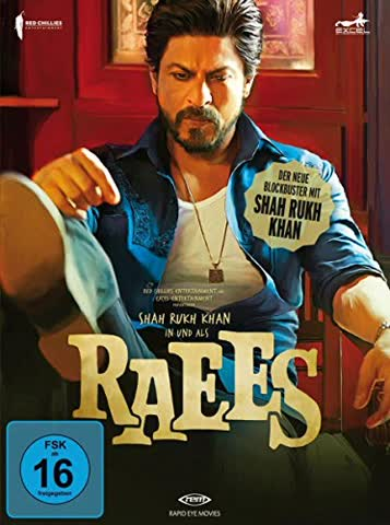 Raees (+ DVD) (+ Poster) [Blu-ray] [Special Edition]