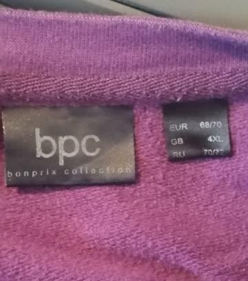 Sweat-Shirt, Violet, Bon-Prix, Grösse 68 / 70