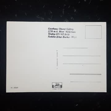 Postkarte Gais