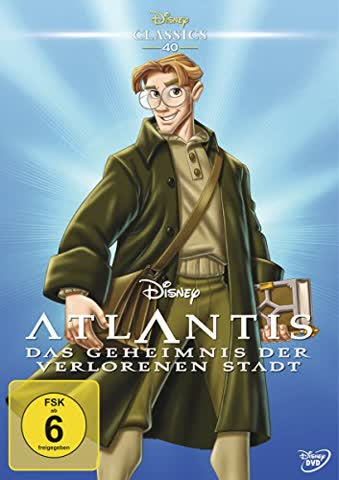 Atlantis - Das Geheimnis der verlorenen Stadt (Disney Classics)