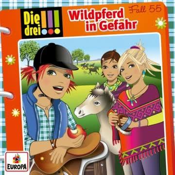 """Die Drei !!! """"055/Wildpferd in Gefahr"""""""