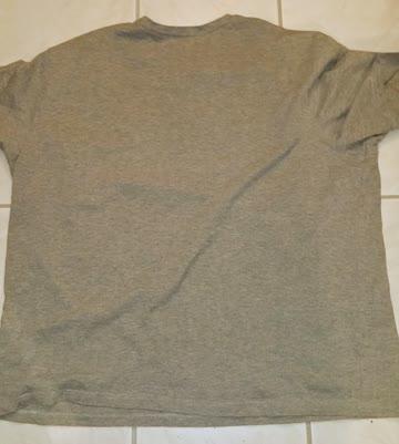 """T-Shirt grau - Aufdruck """"Wolf"""" vorne - Grösse 64/66"""