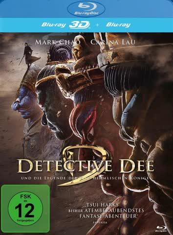 Detective Dee und die Legende der vier himmlischen Könige 2D und 3D