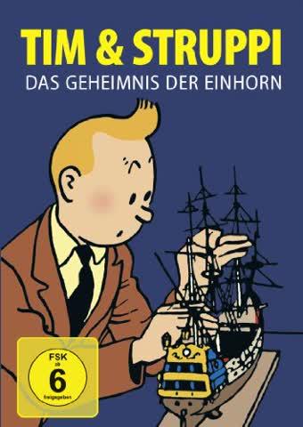 Tim & Struppi - Das Geheimnis der Einhorn [Alemania]