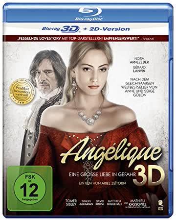 Angélique - Eine große Liebe in Gefahr (Prädikat: Besonders wertvoll) [3D Blu-ray + 2D Version]