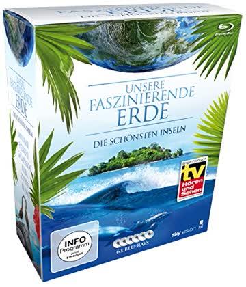 Unsere faszinierende Erde - Die schönsten Inseln, Die Komplettbox (Limited Edition auf 6 Blu-rays) (SKY VISION)