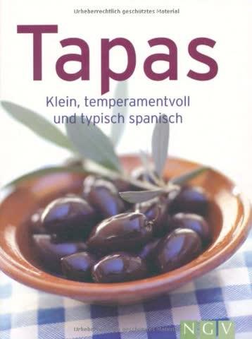 Tapas. Klein, temperamentvoll und typisch spanisch (Minikochbuch)