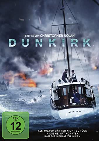 DUNKIRK - MOVIE [DVD] [2016]