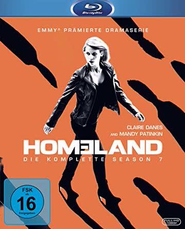 Homeland - Season 7 [Blu-ray]