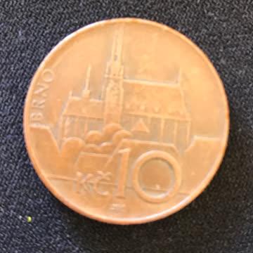 10 tschechische Kronen