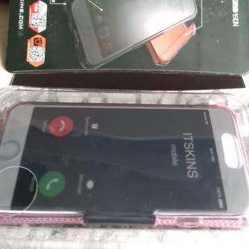 I Phone 7 Case Itskins rosa