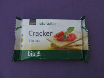 Naturaplan Bio Cracker Sbrinz