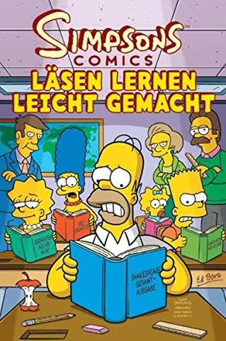 Simpsons Comic Sonderband 19. Läsen lernen leicht gemacht