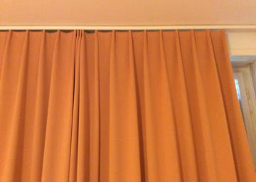 Schöner, dicker Vorhang