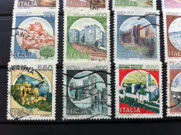 Briefmarken Italien 1980 – 1998 Castelli (Burgen)