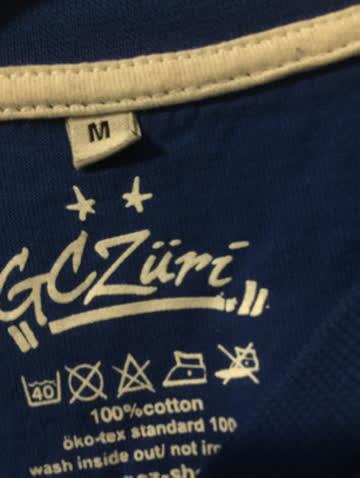 GC Zürich T-Shirt Grösse M neuwertig