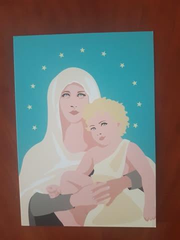 Weihnachtskarten POPART 7 Stk