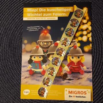 Wichtel Stickers Migros