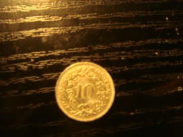 10 Rappenstück 1881
