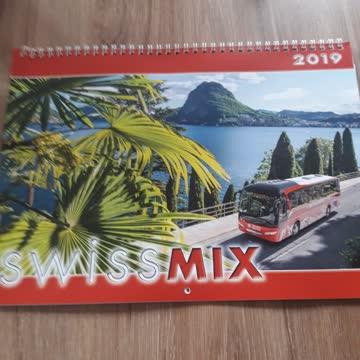 Swiss Mix Kalender 2019