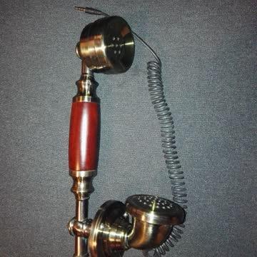 Oldschool Telefonhörer mit Klinkenstecker