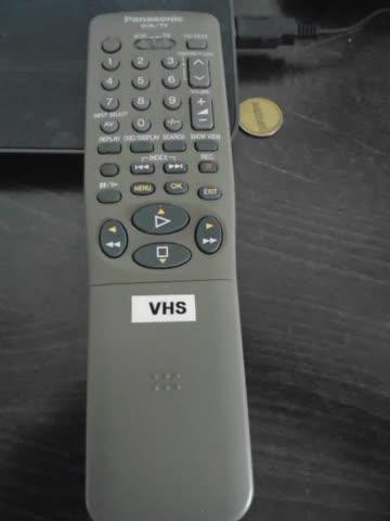 PANASONIC FERNBEDIENUNG FÜR TV/ VCR