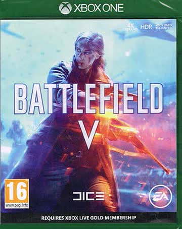Electronic Arts Battlefield V Basic Xbox One German video game - Video Games (Xbox One, Action, Multiplayer mode, M (Mature))